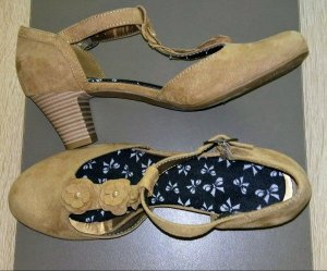 Graceland Zapatos de tacón con barra en T multicolor