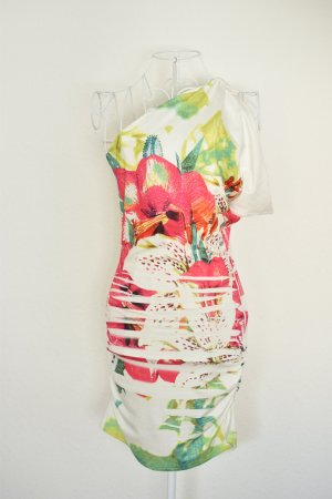 Spanisches Floral Sommerkleid (Stretch)
