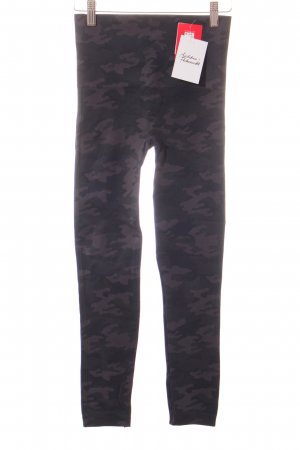 Spanx Leggings grau-dunkelgrün Mustermix Military-Look