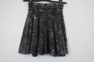 Sparkle & Fade by Urban Outfitters High Waist Rock Gr. M Jersey grau meliert (18/03/051)