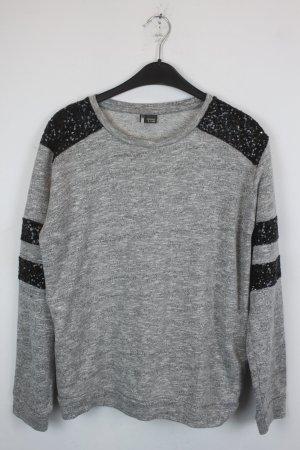 Sparkle & Fade by Urban Outfitters Sweatshirt Gr. M grau Pallietten (18/6/461)