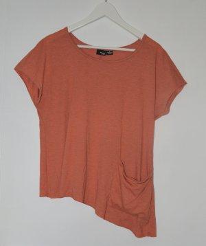 Sparkle & Fade - entspannt - asymmetrische Tshirt - M - mit Tasche