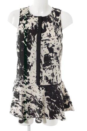 Sparkle & Fade Etuikleid schwarz-wollweiß abstraktes Muster Business-Look