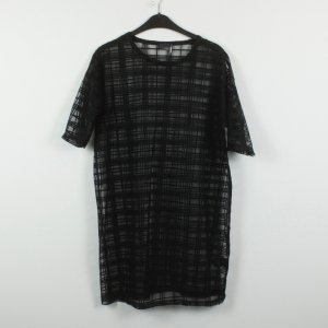 Sparkle & Fade Kleid Gr. XS schwarz transparent Gittermuster (19/02/397)