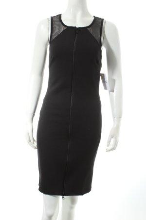 Sparkle & Fade Kleid schwarz Netz-Optik