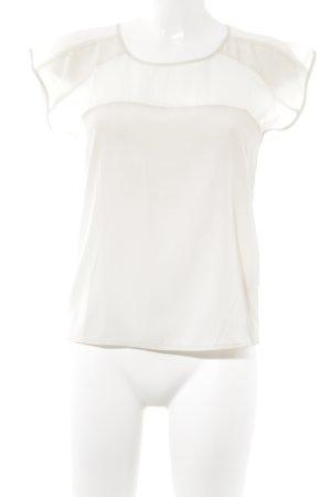 Sparkle & Fade Kurzarm-Bluse creme Casual-Look