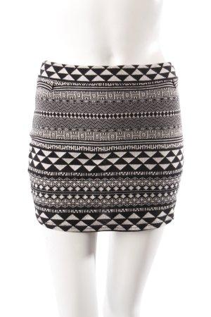 Sparkle & Fade Minirock schwarz-weiß