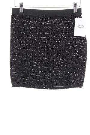 Sparkle & Fade Minirock schwarz-weiß Farbtupfermuster Street-Fashion-Look