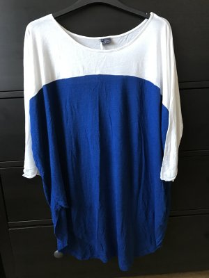 Sparkle & Fade Oversized Shirt blau weiß S 38 urban outfitters