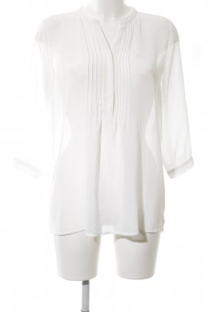 Sparkz Langarm-Bluse weiß Casual-Look