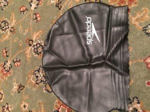 Speedo Schwimmkappe in Schwarz