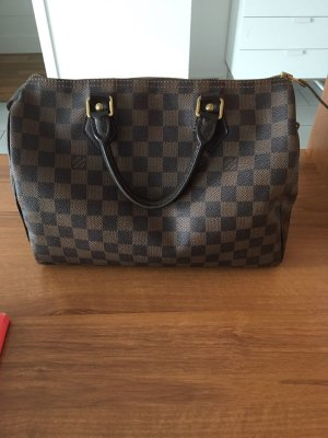 Speedy 30 Damier Ebene Canvas
