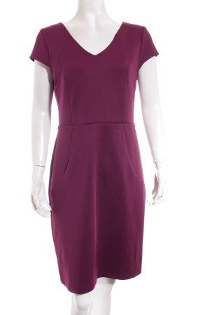 Spense Etuikleid purpur-goldfarben Elegant
