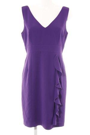 Spense Robe épaules nues violet foncé style festif