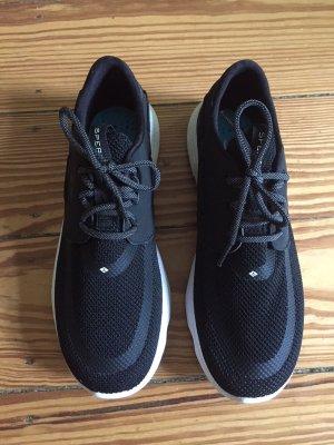 SPERRY 7 Seas Unisex-Sneaker Sneakers Bootschuhe Schwarz - 39 - NEU