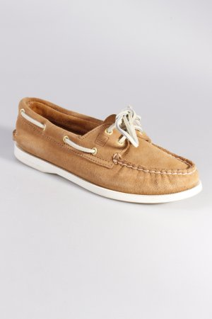 Sperry boat shoes beige