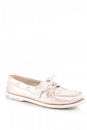 Sperry top-sider Mokassins altrosa-goldfarben extravaganter Stil