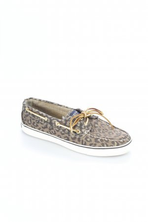 Sperry top-sider Segelschuhe Animalmuster Casual-Look