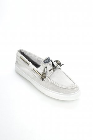 Sperry top-sider Segelschuhe grau Segel-Look