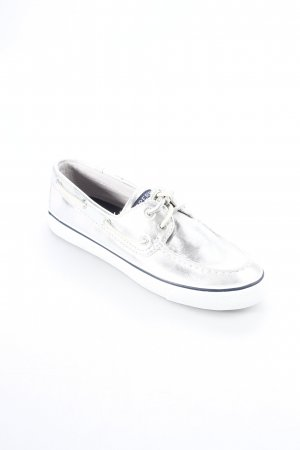Sperry top-sider Sailing Shoes silver-colored batik pattern classic style