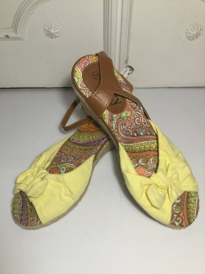 Strapped Sandals multicolored synthetic fibre
