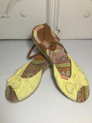 Sandalo con cinturino multicolore Fibra sintetica