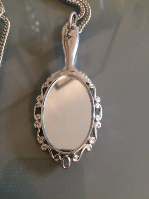 Spiegel Kette in Silber