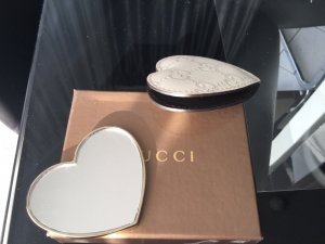 Spiegel von Gucci mit Leder Etui