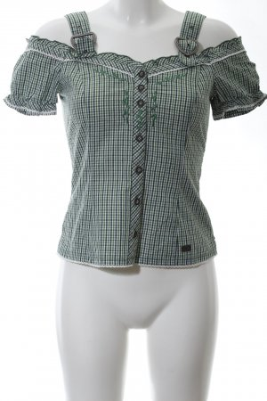 Spieht & Wensky Traditional Blouse check pattern casual look