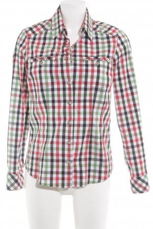 Spieht & Wensky Trachtenhemd Karomuster Maskulin-Look
