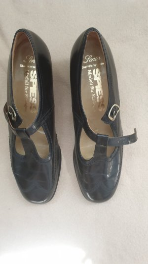 Spiess Mary Janes black leather