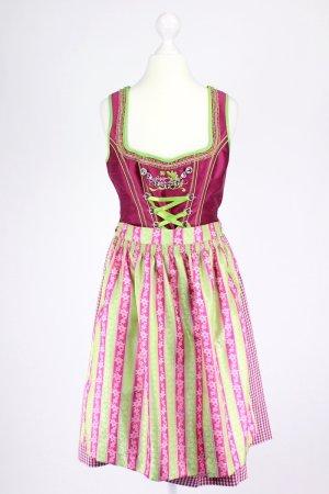 Spieth & Wensky Vestido Dirndl rosa-verde