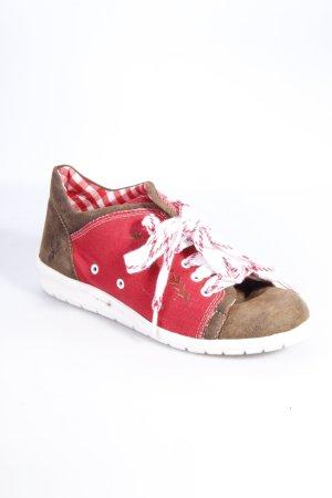 Spieth & Wensky Sneaker Trachtenstil