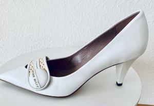 Spitz-Pumps/ High Heels in weiß von Miss Sixty, Gr. 38 NEU,