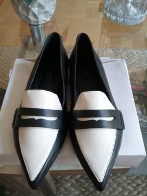 Esprit Ballerinas white-black