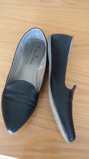 Blue Motion Ballerinas with Toecap anthracite imitation leather