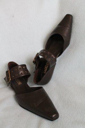 Madeleine Ballerinas dark brown-brown leather