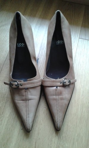 Spitze beige Schuhe von Lodi