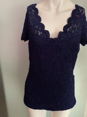 Orsay Kanten blouse donkerblauw