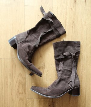 Esprit Western Booties black brown-brown red