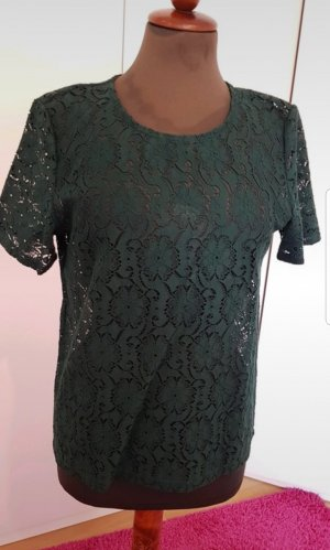Vero Moda Lace Top dark green-forest green