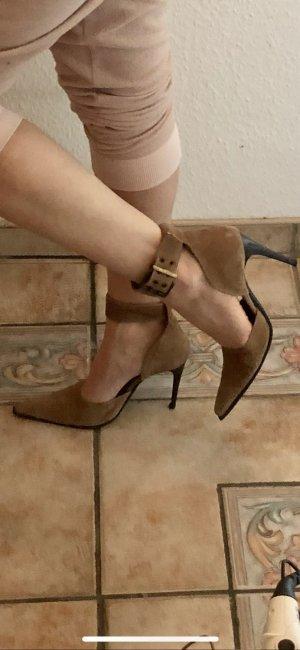 Spitze High Heels Sandalen Made in Italy