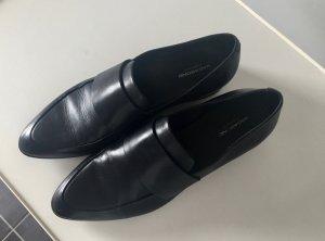 Vagabond Mocassins noir cuir
