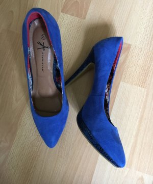 Spitze Pumps Atmosphere 42 Blau