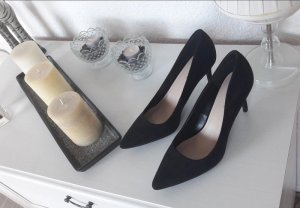 Spitze Pumps schwarz new look chick Business Blogger