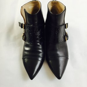 Etro Booties black-gold-colored
