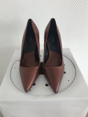 Spitze Zara Punps in Cognac Gr. 36