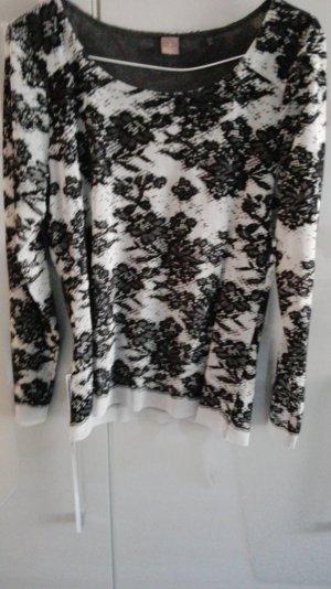 Spitzen 2 Teiler Farbe schwarz/grau Rock und Oberteil