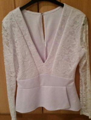Lace Blouse white