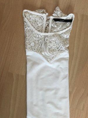 Vero Moda Blusa in merletto bianco